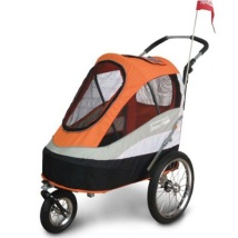 Sporty Dog Trailer Deluxe Max weight: 30KG - Orange/Black