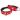Leather Collar Swiss - Red/Black