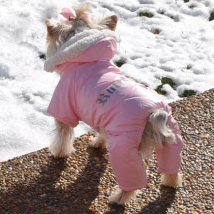 Winter 4-legged Cozy Suit - Pink