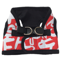 Harness Vest Red/White