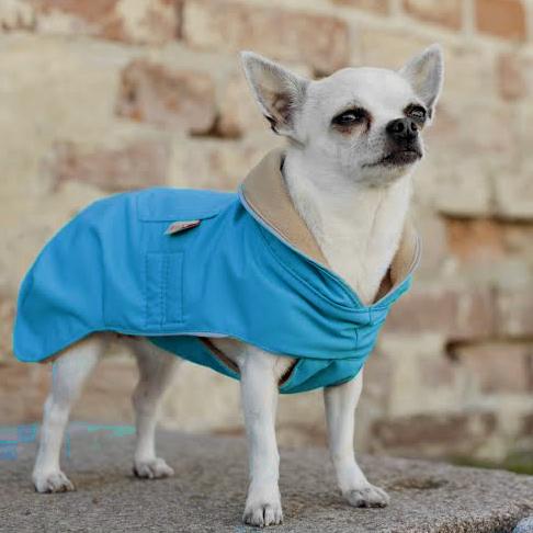 Nivala Raincoat w fleece - Turquoise
