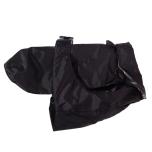 Pug/FrBulldog Black Trench w. detachable lining