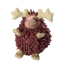 Dog Toy Snugly Elk Brown