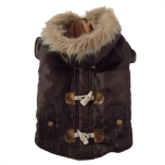 Brown duffle winter coat