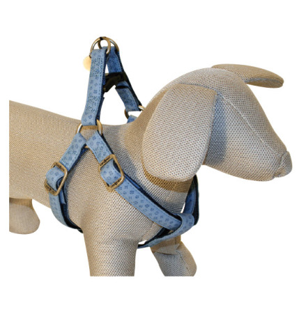 SOFT HARNESS LIGHT BLUE - ADJUSTABLE