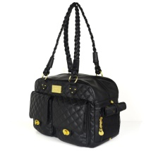 Monaco Quilted Bag Black