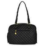 Monaco Quilted Bag Black