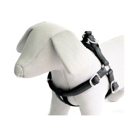 SOFT HARNESS BLACK - ADJUSTABLE