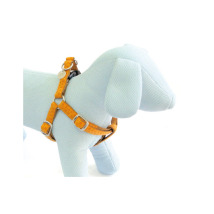 SOFT HARNESS ORANGE/BEIGE - ADJUSTABLE