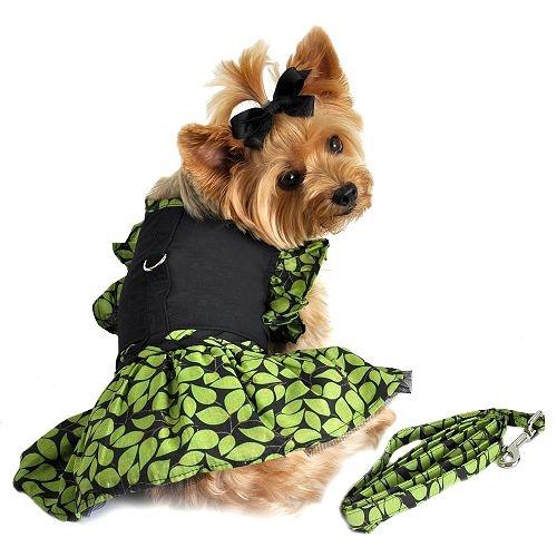 Green Garden Party Dress