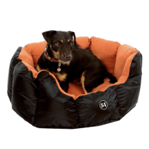 All Seasons Soft Bed Rust/Black