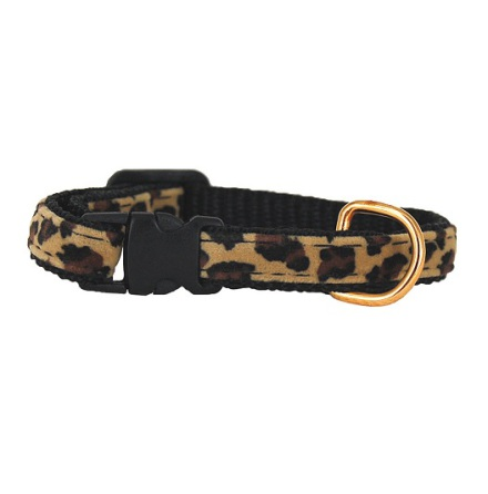 Safari Collar Leopard Soft and Adjustable