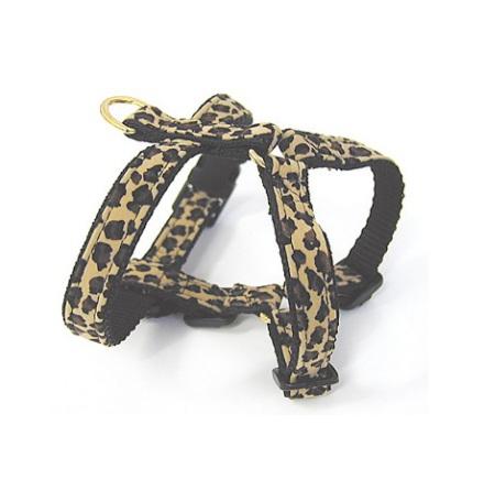 Safari Harness Leopard Soft and Adjustable