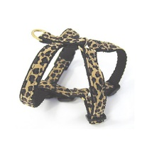 Safari Harness Leopard Soft and Ajustable