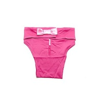 Hygenic Pants w bow Pink