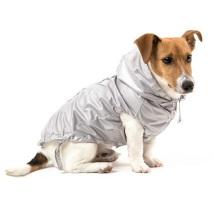 Soft raincoat w pocket Grey