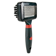 Soft Brush Double Sided Rubber Handle