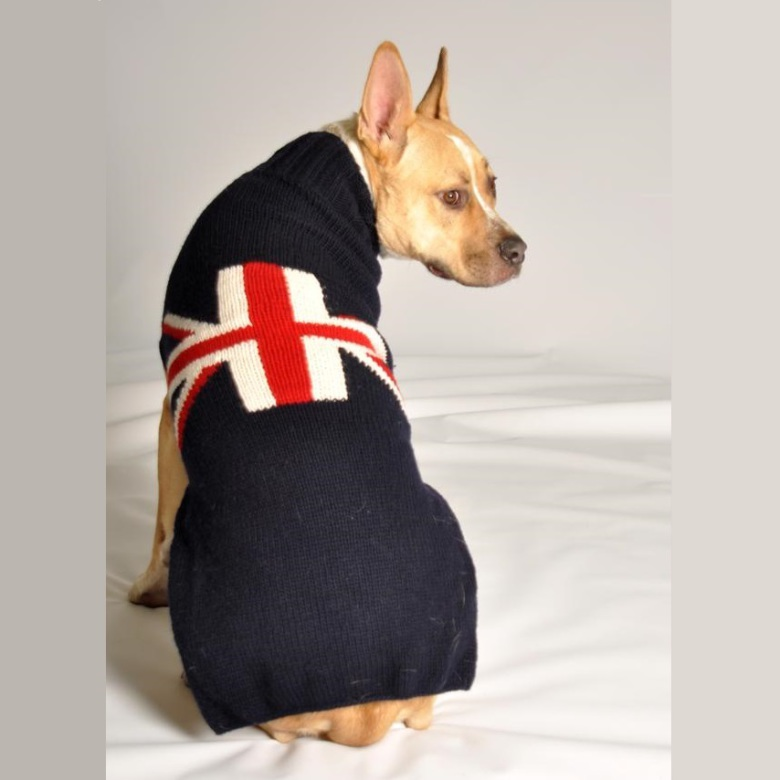 Britain Flag Sweater Navy Blue