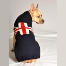 Britain Flag Sweater Navy Blue