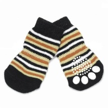 Striped Dog Socks 4pcs