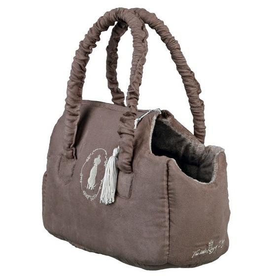 Dark Taupe Soft mini bag