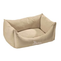 Dog Bed Suede Vanilla