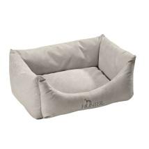 Dog Bed Suede Light Grey