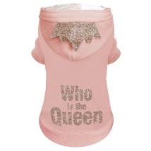 Queen Hoody w Crown - Pink