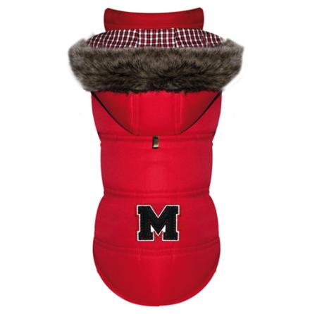 Hood Coat Red