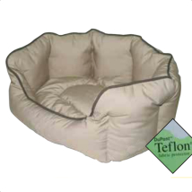 Pet Bed Teflon - Beige