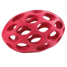 American Football shape Rubber - Red