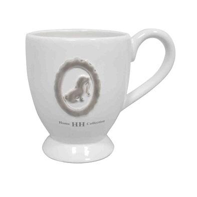 Porcelain Mug White 8,5x10cm