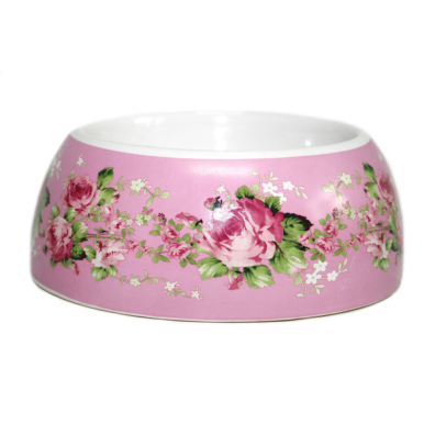 Rose Dreams Bowl - Pink/Flowers