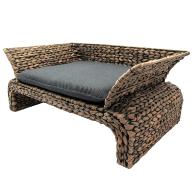 Dog Sofa Water Hyacinth 55x35x25cm