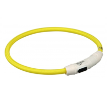 Flash Ring USB Rechargeable - Yellow