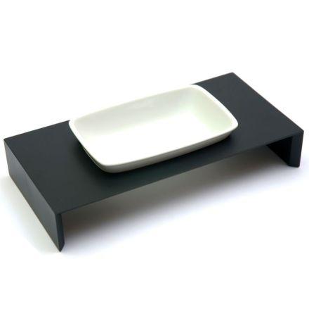 Maebashi Bowl Wooden Table - Black