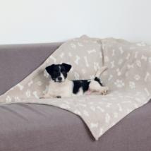 Softy Plush Blanket - Beige