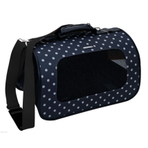 Bologna Travel bag Black w white Dots 40x24x25cm