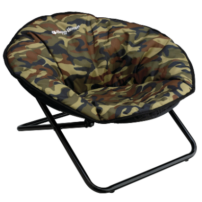 Dog Chair Foldable - Canvas Camo 70x68x42cm