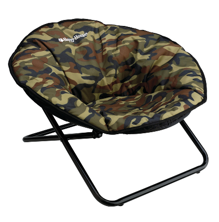Dog Chair Foldable - Canvas Camo 70x68x42cm