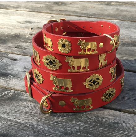 Genuine Alp Collar - Red