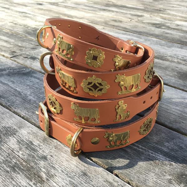 Genuine Alp Collar - Light Brown