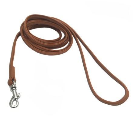 Soft Tiny Leash Leather - Tan L:180 W:5mm