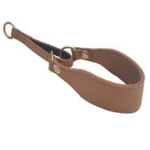 North Bay Leather Collar Flat Half Check - Tan