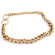 Chain Collar Brass 4mm
