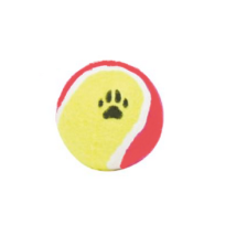 Tennis Ball - Yellow/Red 6,5 cm