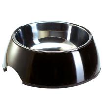 Round Bowl Stainless - Black