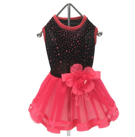 Party Dress Pink/Black