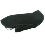 Double Layer Fleece Coat - Black
