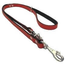 Flat Leash 2 colors - Red/Black